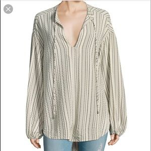 {Free People} Rhythm of the night striped tunic